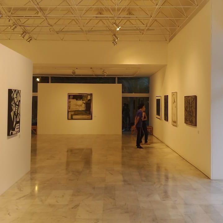 Arte em exposição no Palácio das Artes