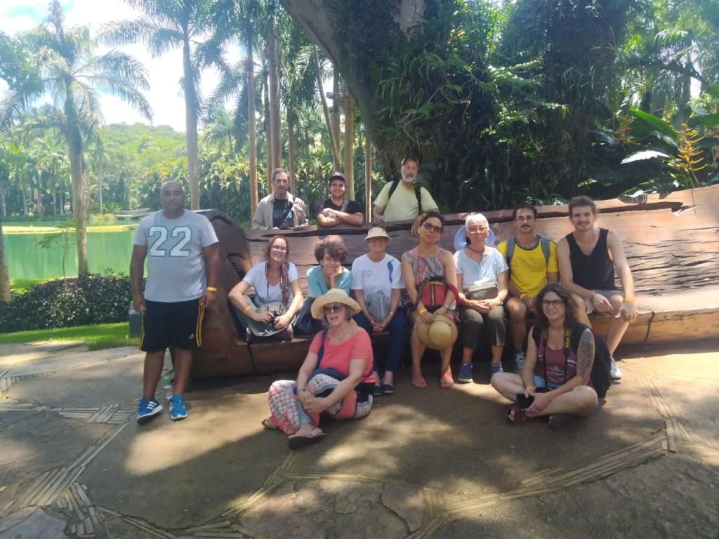 Nosso maravilhoso grupo em Inhotim